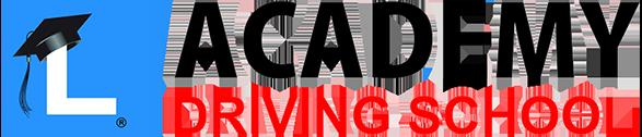 Academy Driving School Logo long med